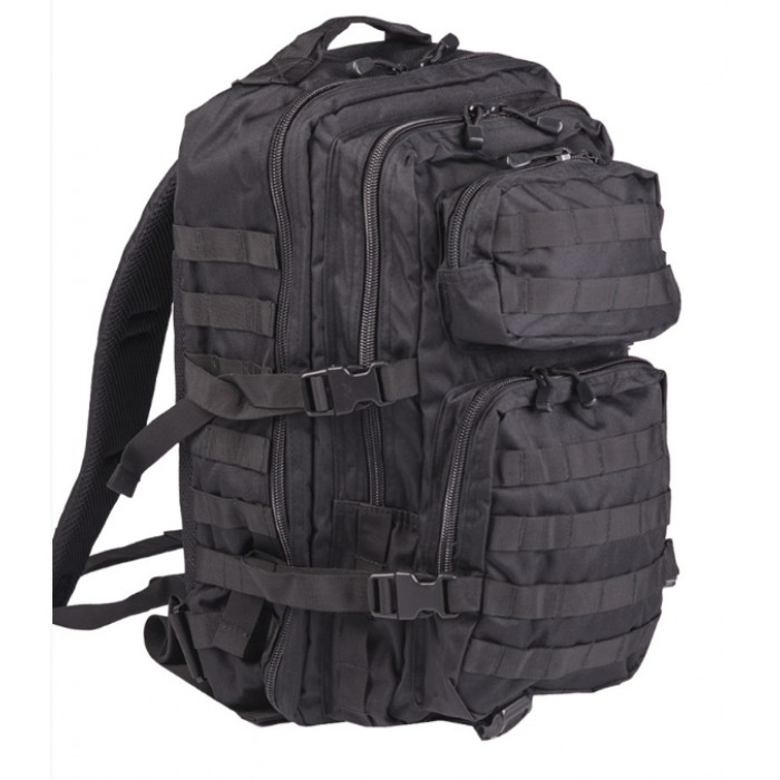 ASSAULT Sturm Large, Black, Mil-Tec 36