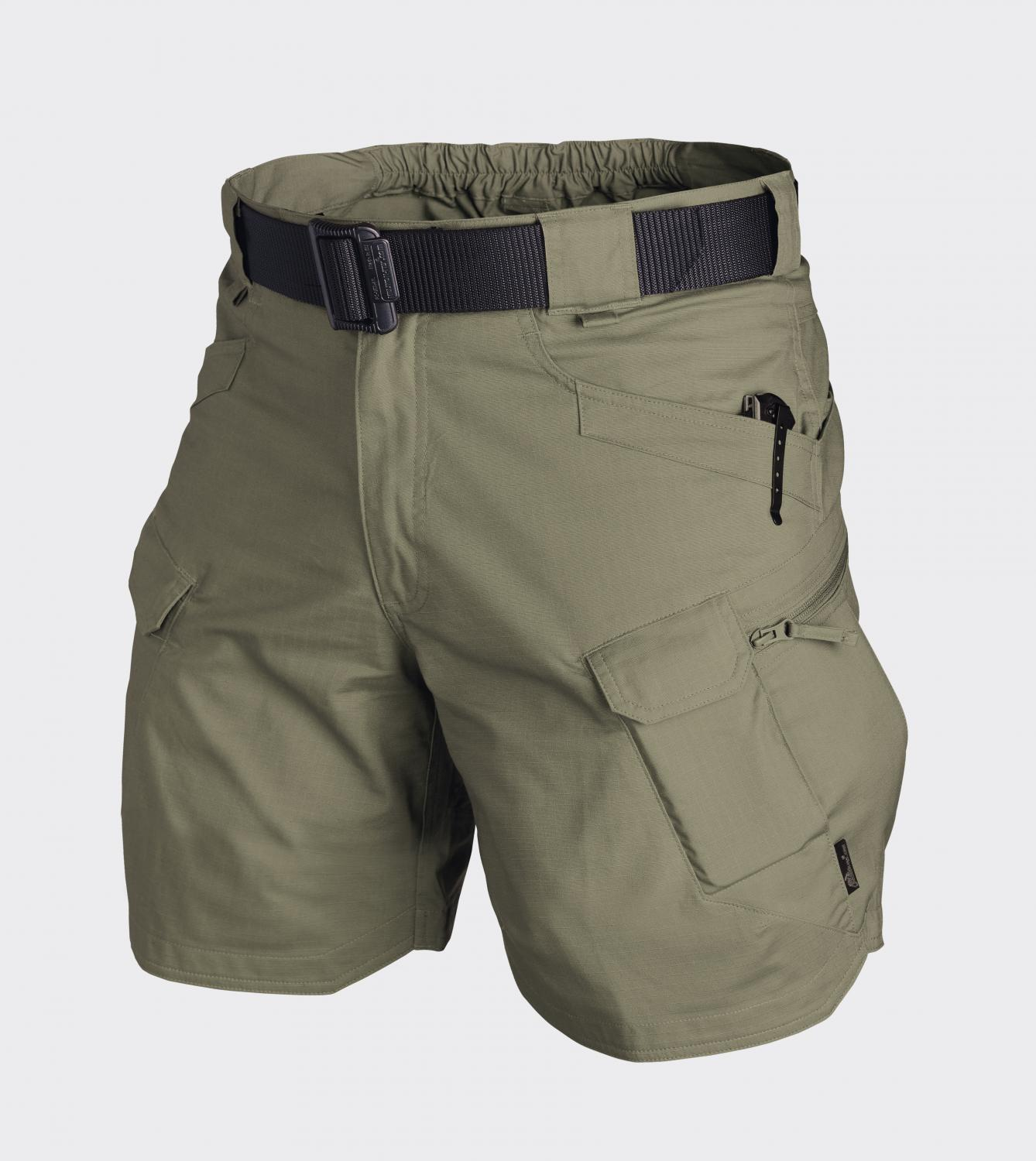 "URBAN TACTICAL SHORTS® 8.5"" - PolyCotton Ripstop Adaptive Green"
