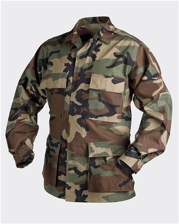 Battle Dress Uniform BDU - Cotton Ripstop US Woodland