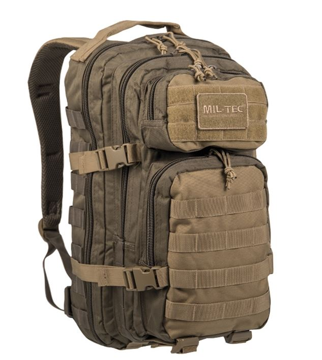 Рюкзак US ASSAULT PACK SM RANGER GREEN/COYOTE 20
