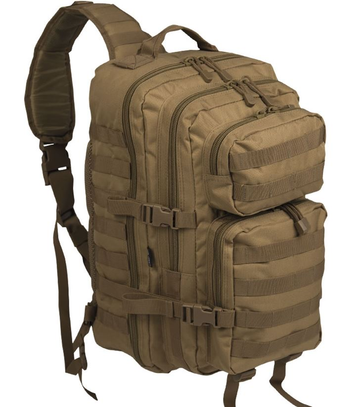 ONE STRAP ASSAULT PACK LG COYOTE 29