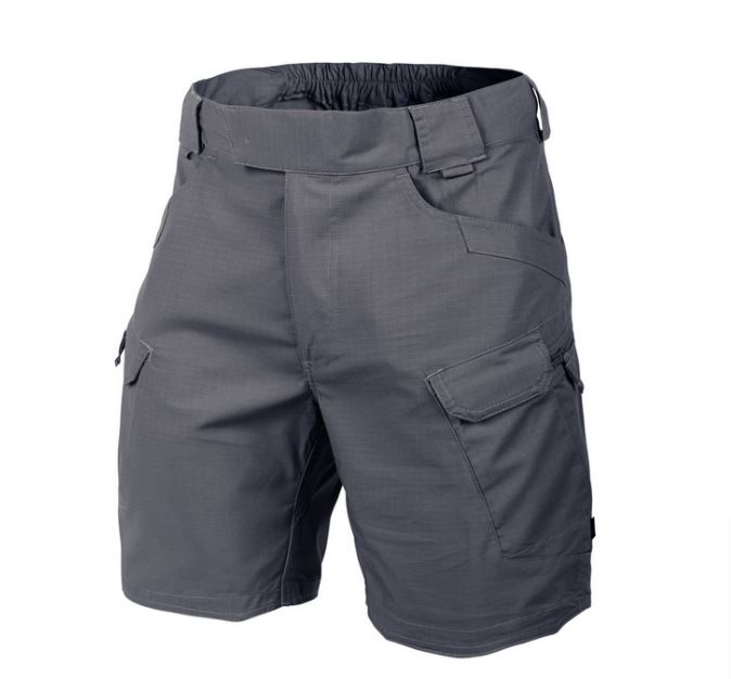 URBAN TACTICAL SHORTS® 8.5 - PolyCotton Ripstop  Shadow Grey
