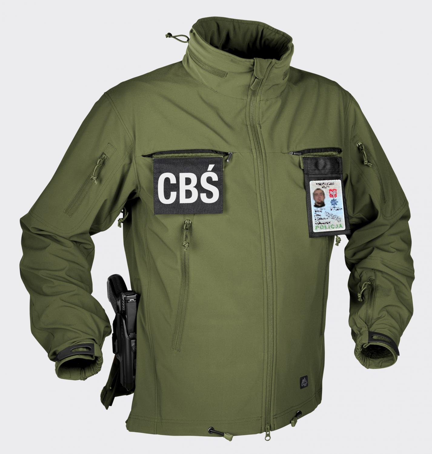 COUGAR® QSA™ HID™ - SoftShell Windblocker Olive Green