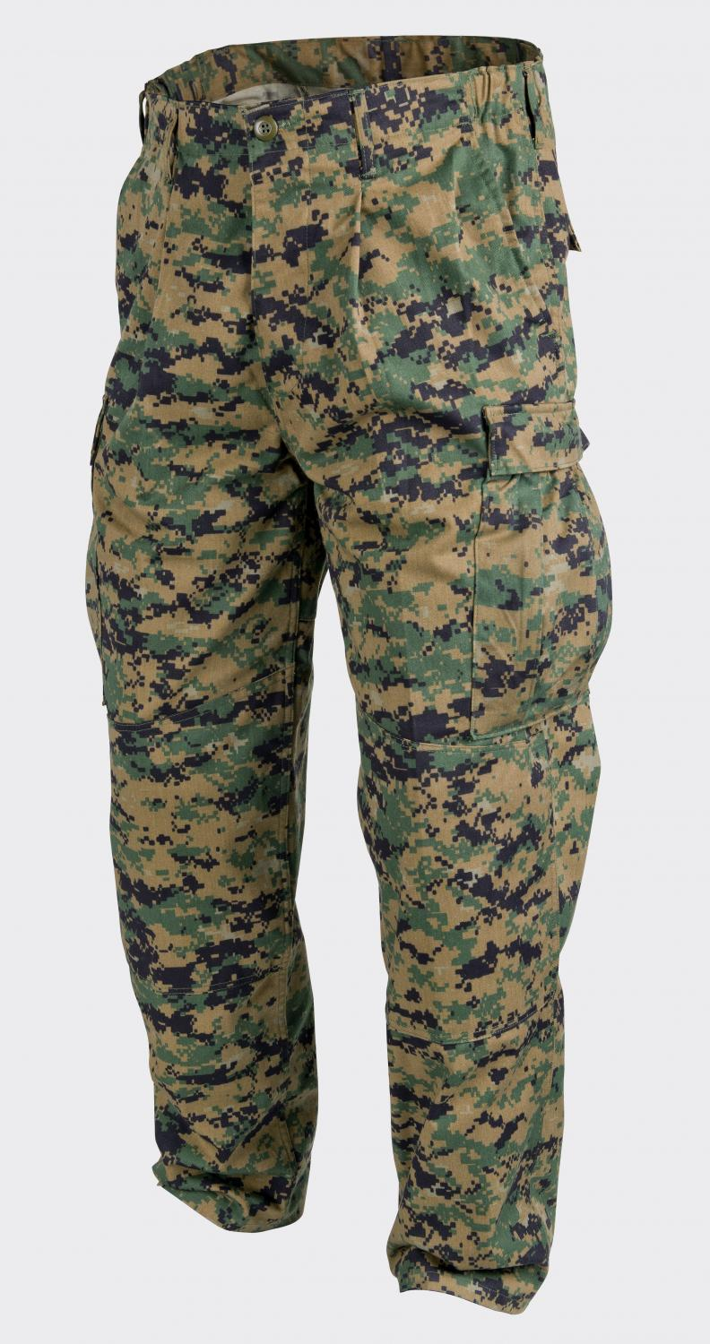 USMC - PolyCotton Twill - USMC Digital Woodland