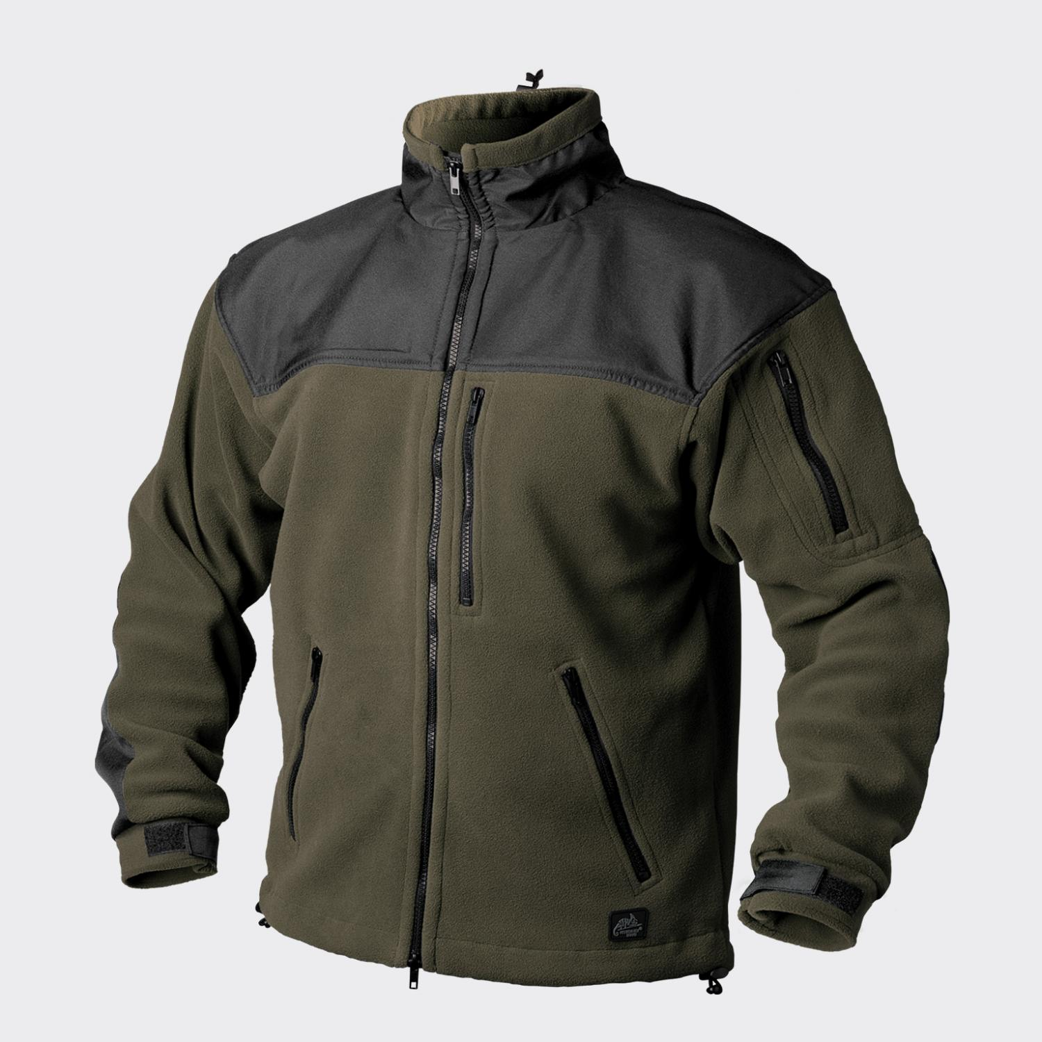 CLASSIC ARMY – Fleece Black/Olive Green