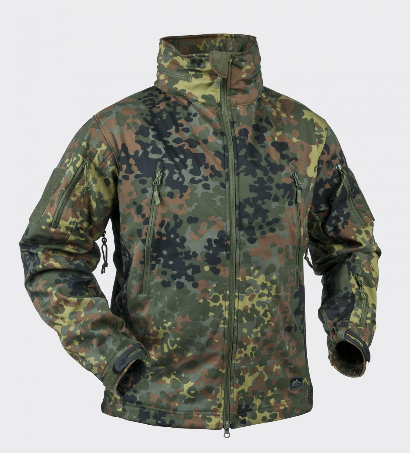 GUNFIGHTER - Shark Skin Windblocker Flecktarn