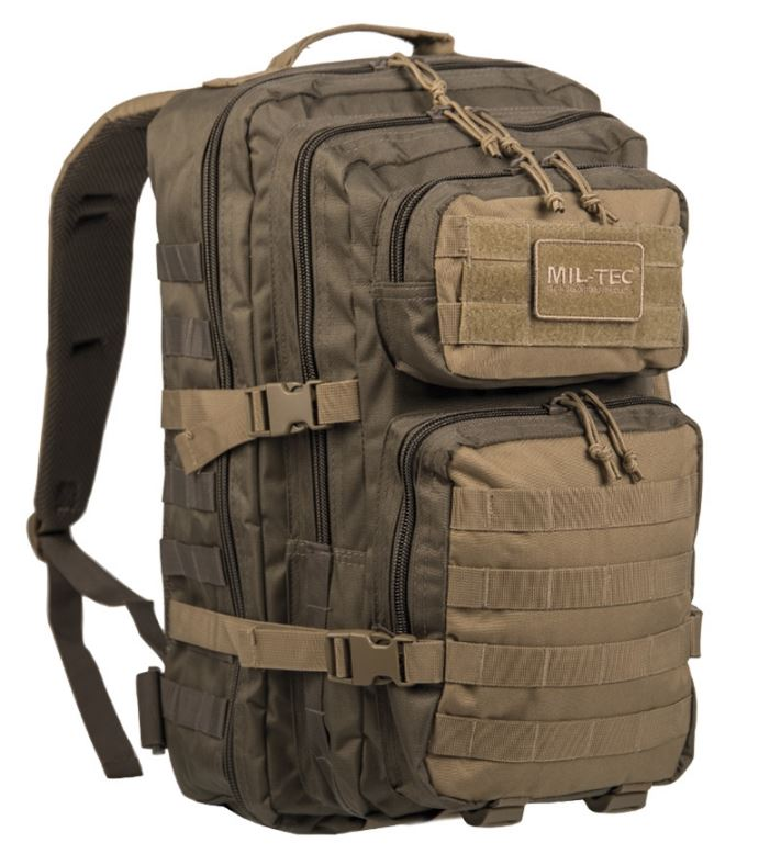 Рюкзак US ASSAULT PACK SM RANGER GREEN/COYOTE 36