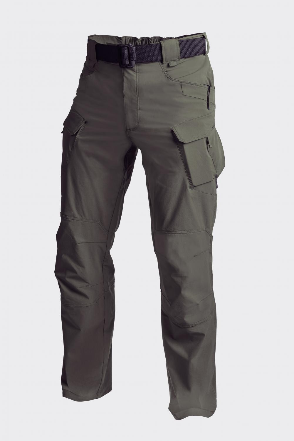OUTDOOR TACTICAL PANTS - Nylon Taiga Green
