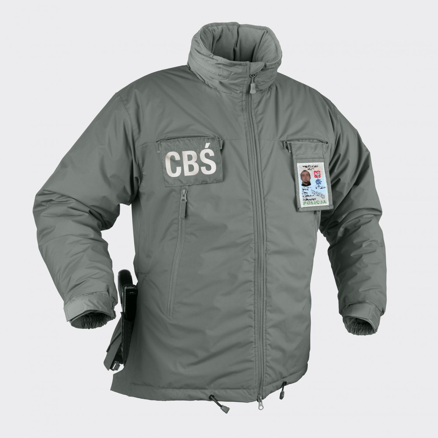 HUSKY Tactical Winter Jacket - Climashield® Alpha Green
