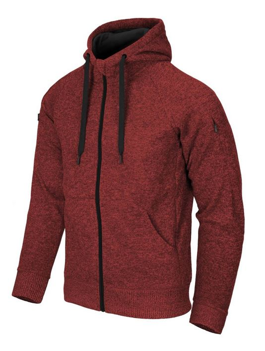 COVERT TACTICAL HOODIE, Melange Red