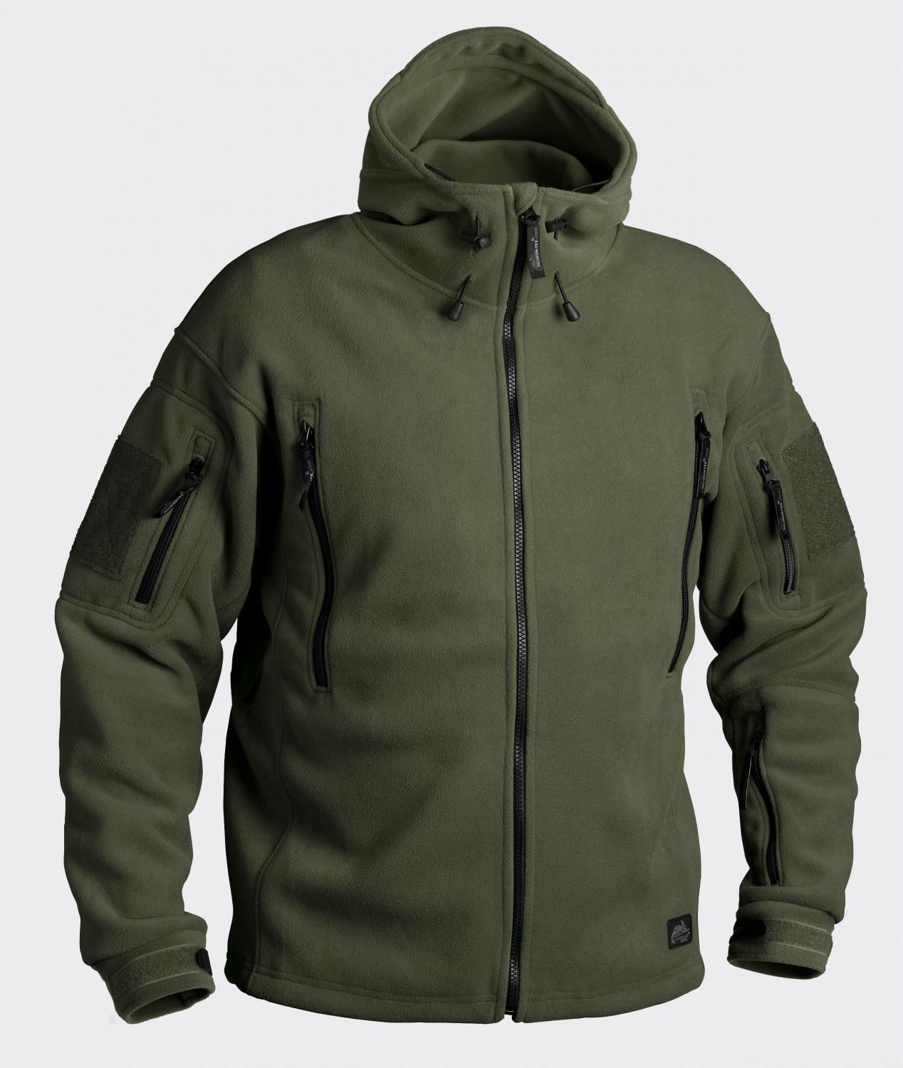 PATRIOT - Double Fleece Olive Green