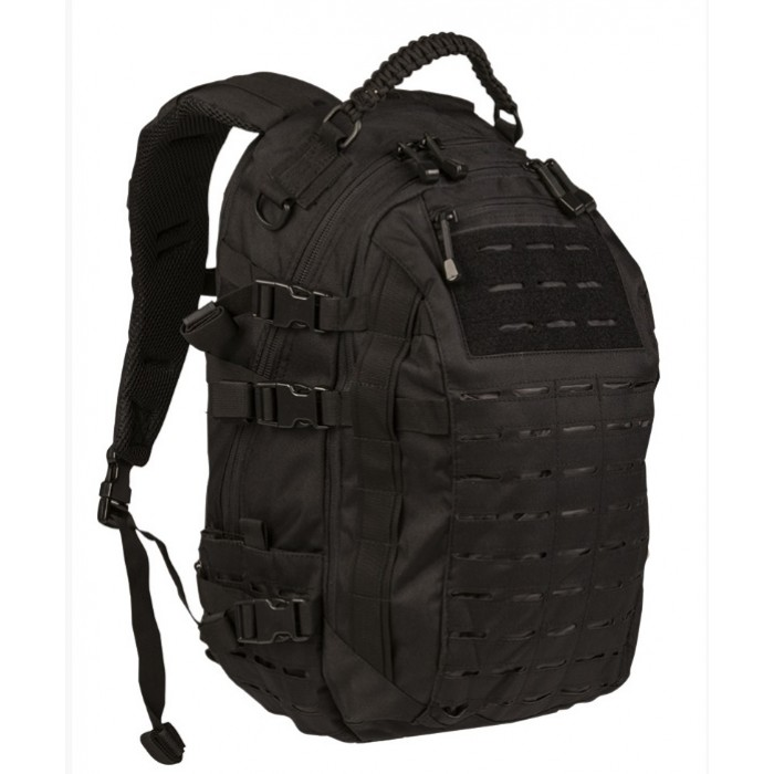 Mission Pack LG Laser Cut Black, 25