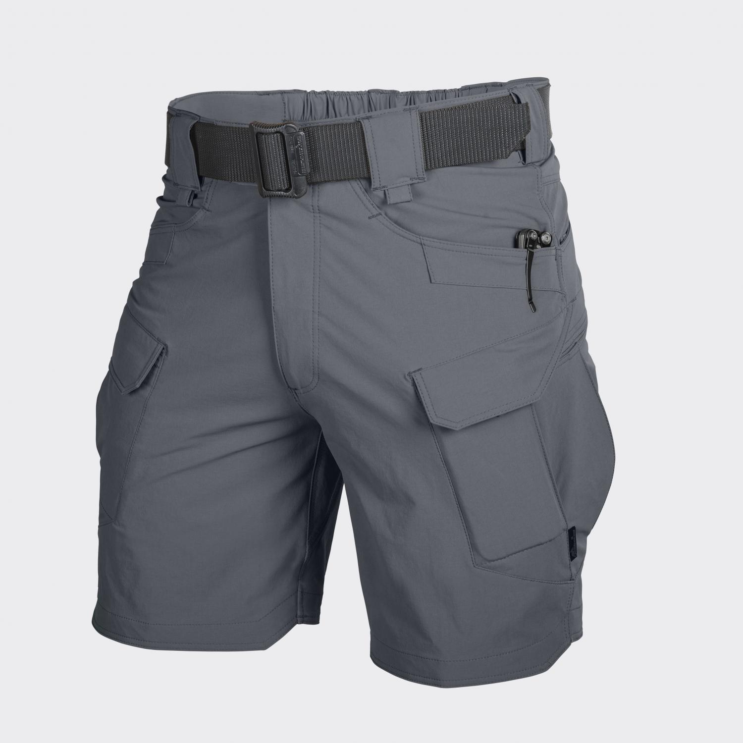 OUTDOOR TACTICAL SHORTS 8.5, Nylon, Shadow Grey