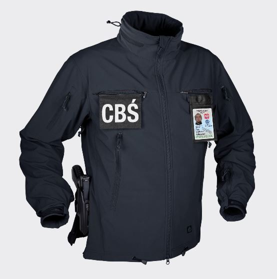 COUGAR® QSA™ HID™ - SoftShell Windblocker Navy Blue