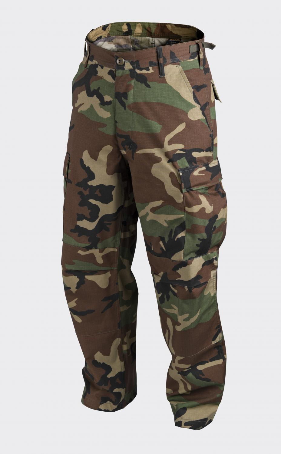 BDU - Cotton Ripstop US Woodland
