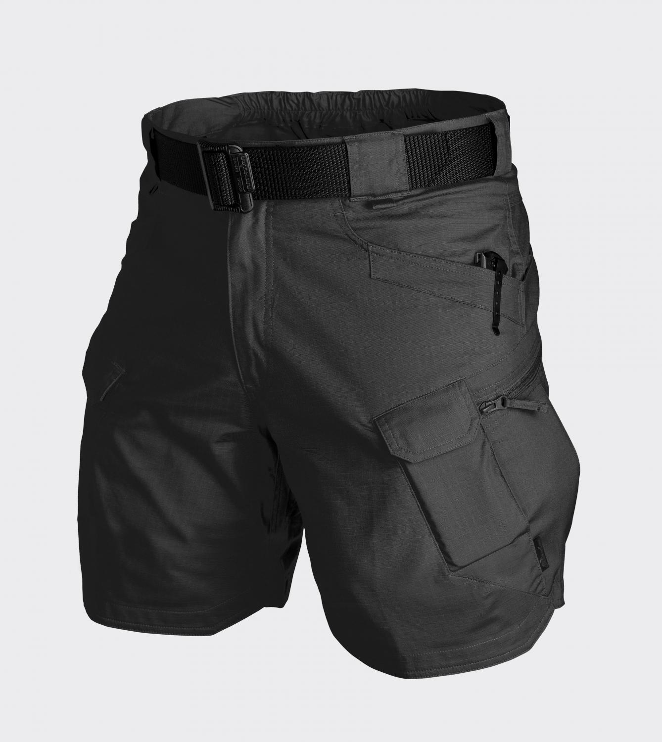 URBAN TACTICAL SHORTS® 8.5 - PolyCotton Ripstop Black