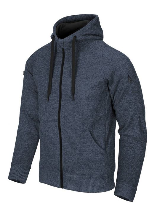 COVERT TACTICAL HOODIE, Melange Blue
