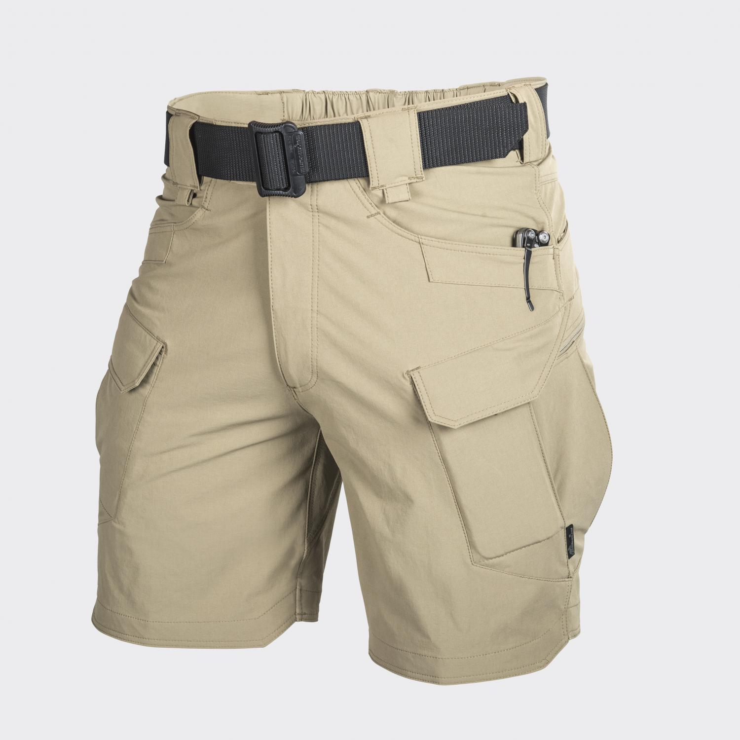 OUTDOOR TACTICAL SHORTS 8.5, Nylon, Khaki