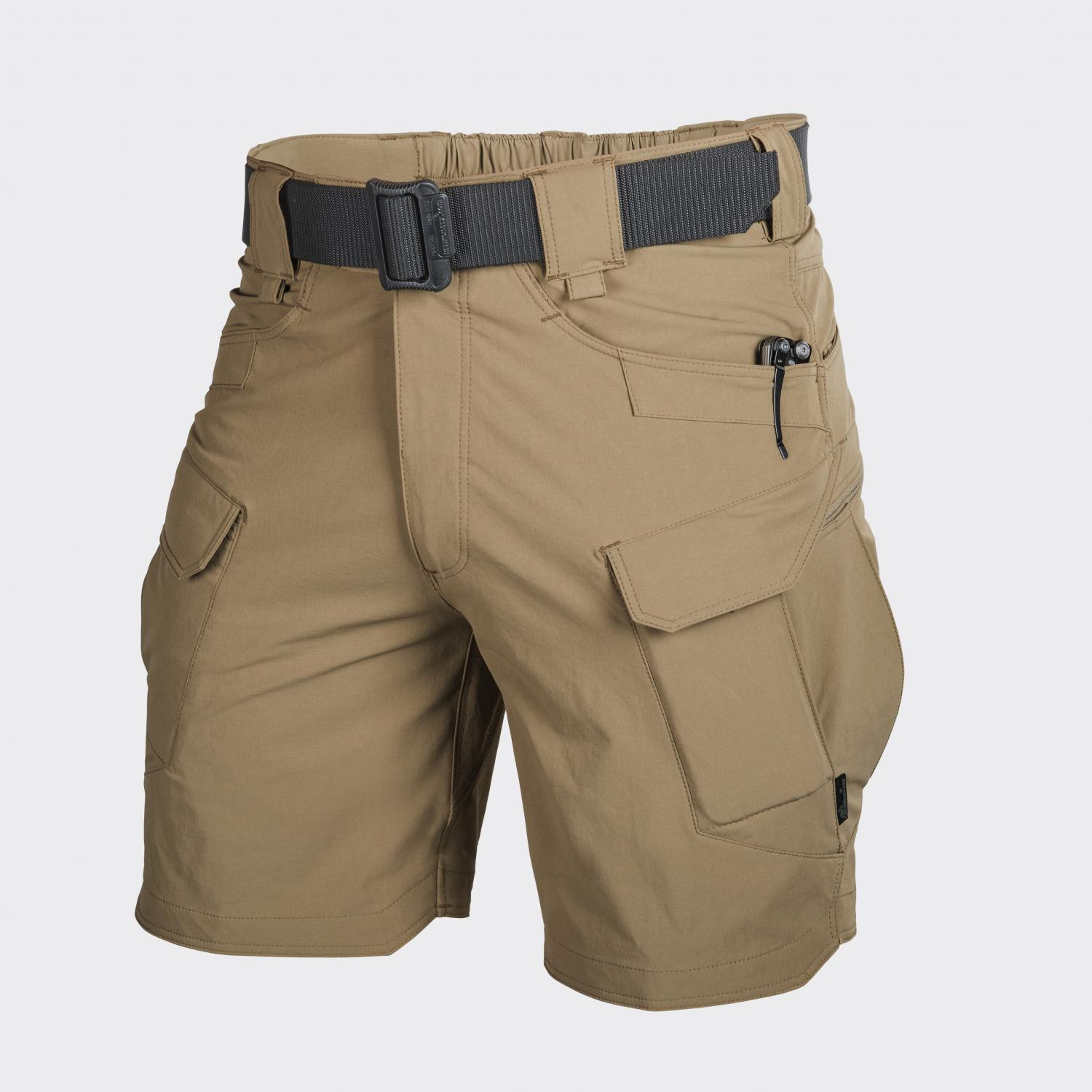 "OUTDOOR TACTICAL SHORTS 8.5"" - Nylon Mud Brown"