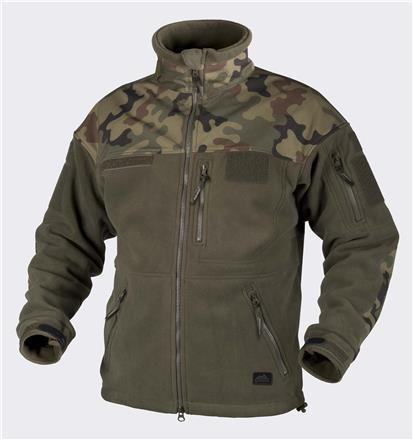 INFANTRY – Fleece Olive Green/PL Woodland