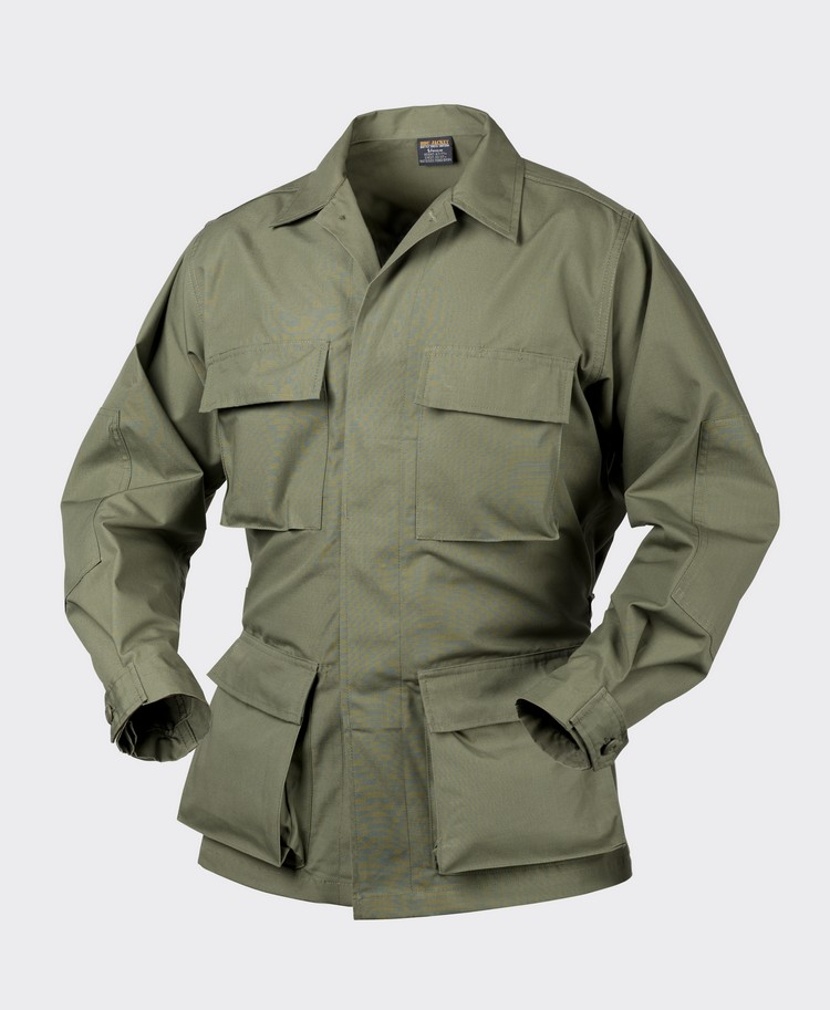 Battle Dress Uniform BDU - Cotton Ripstop Olive Green