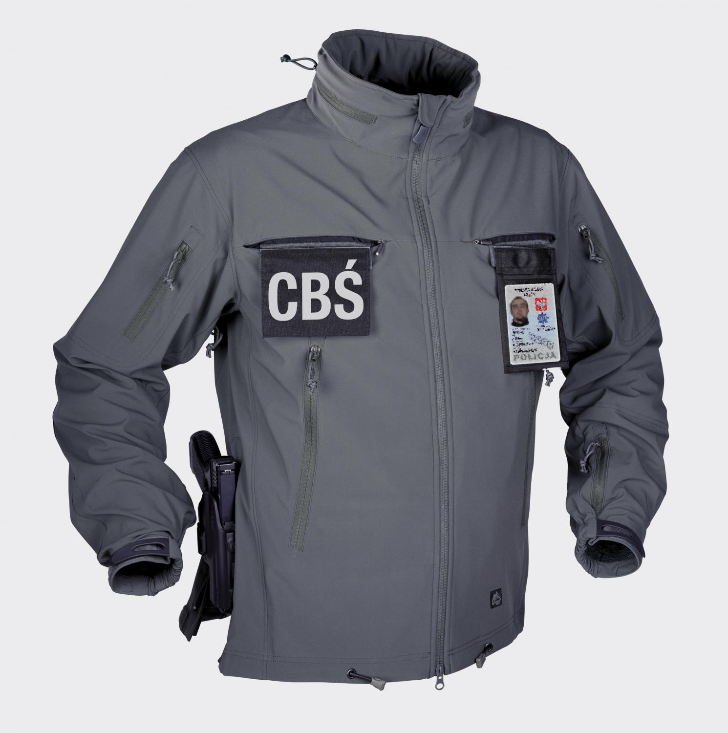 COUGAR® QSA™ HID™ - SoftShell Windblocker Shadow Grey